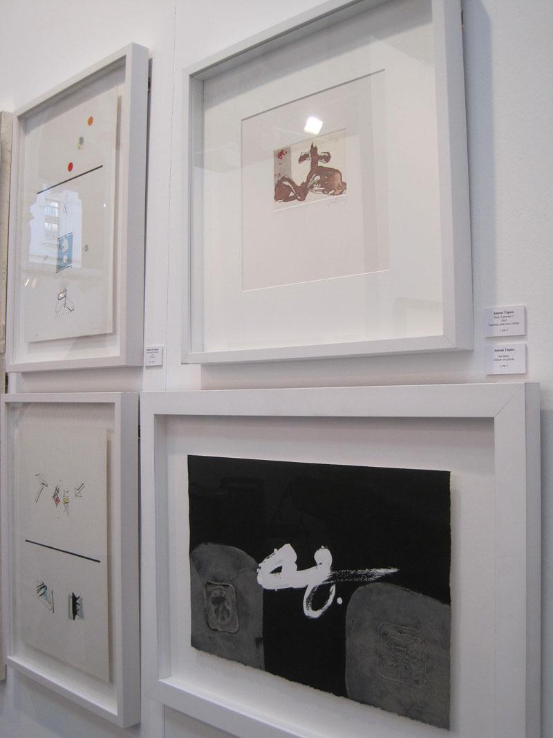 Antoni Tàpies. Galería Obra Gráfica Original