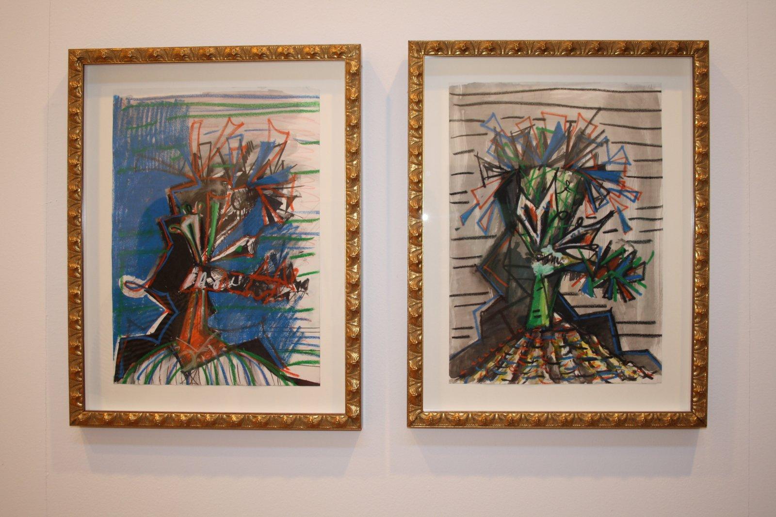 Obra de Ángel Masip. Galería AREA72/PUNTO.
