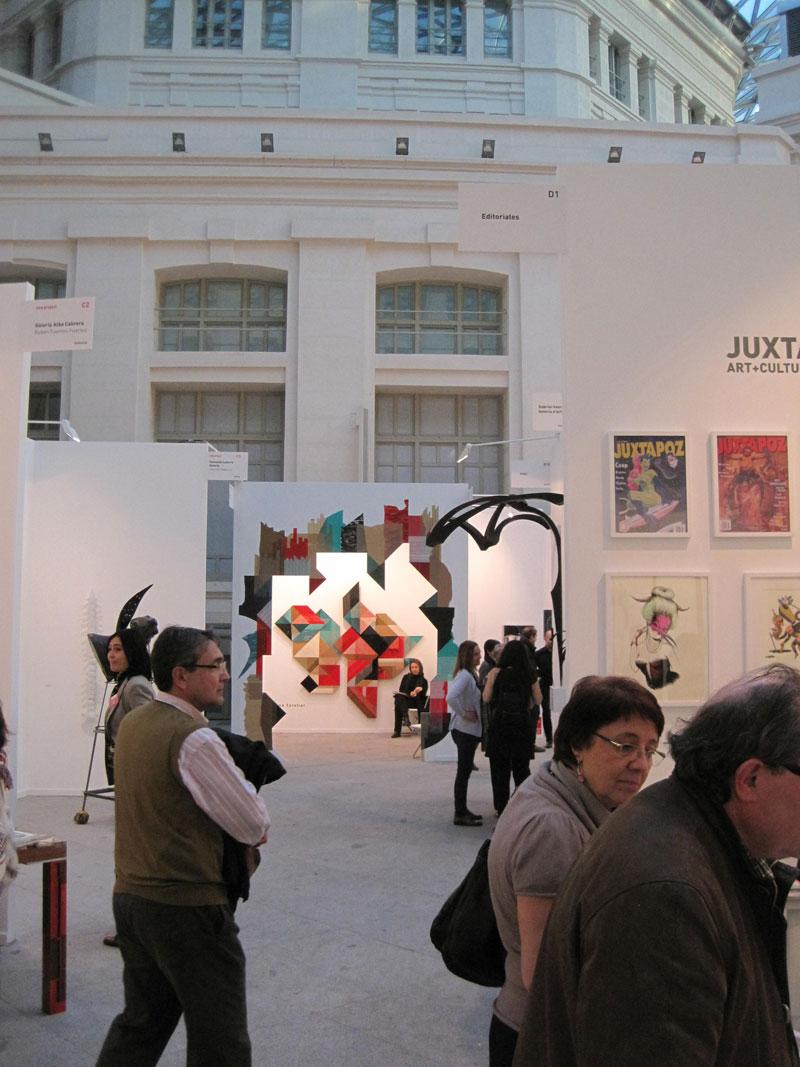 Visitantes de Art Madrid 2014