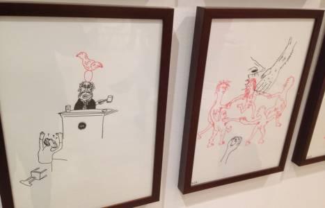 Obra de William Ludwig Lutgens en Drawing Room 2017