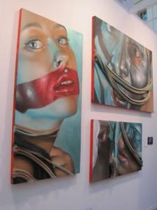 Obra de Belín. Galería Fernando Latorre