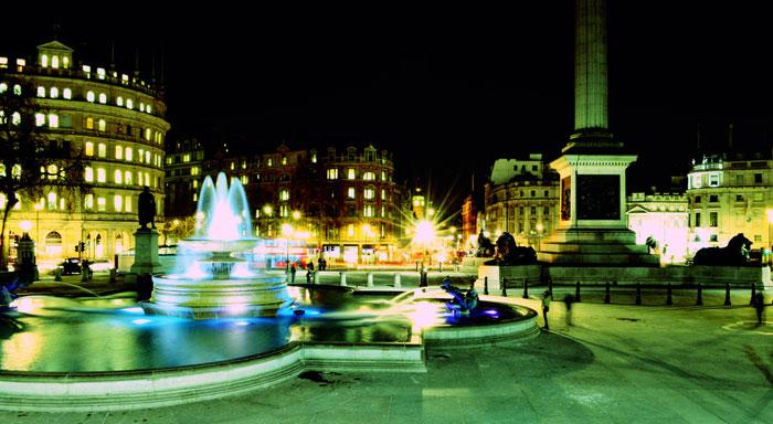 Trafalgar Square. Londres