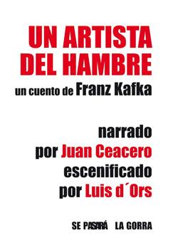 Cartel 'Un artista con hambre'