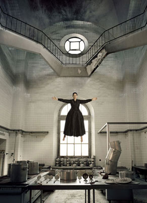 The kitchen. Marina Abramovic