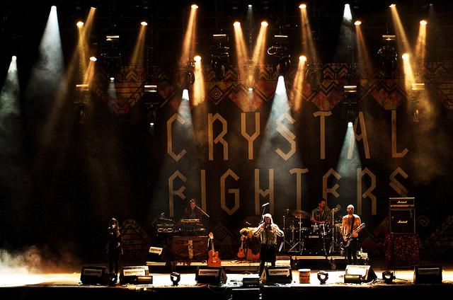 crystal Fighters en SOS 4.8 2013