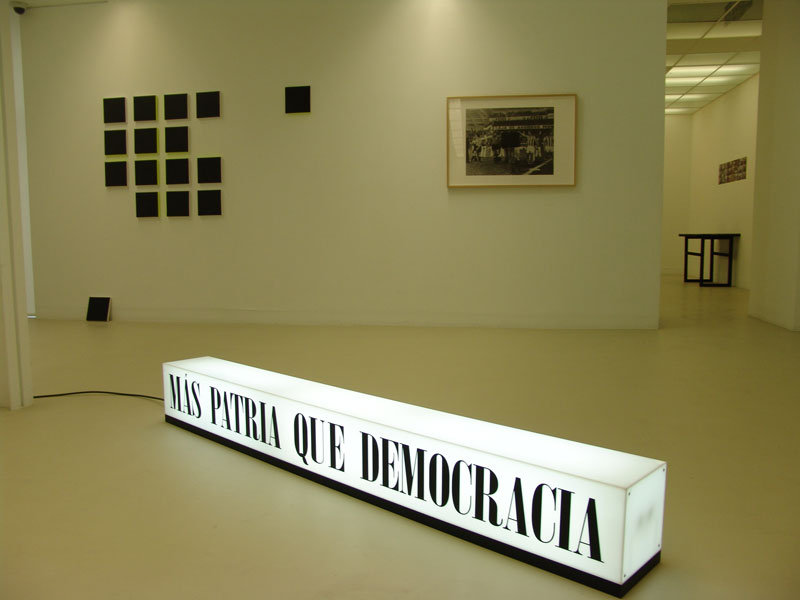 Non Stop. Centro Cultural Montehermoso