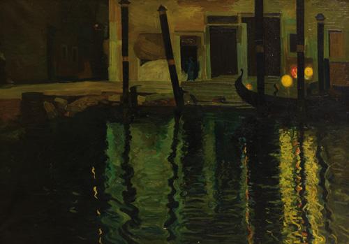 Venecia nocturno Manuel Benedito