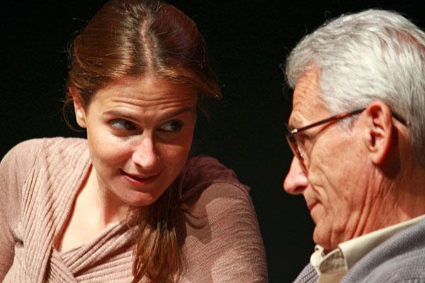 """María y Juan Pastor en """"Duet for one"""". Foto: ALicia González"""
