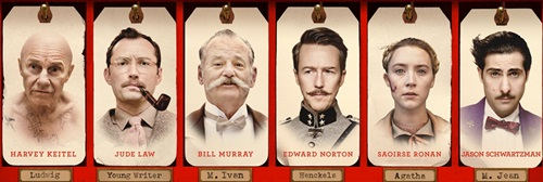 Grand budapest hotel Wes Anderson