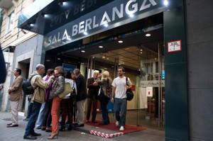 La Sala Berlanga (C/Andrés Mellado, 53).