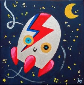 Bip Bip Bowie! de Beatriz Iglesias.
