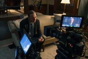 Frank Underwood (Kevin Spacey) en House of Cards.
