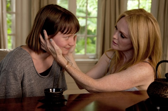 Fotograma de Maps to the stars de Cronenberg.