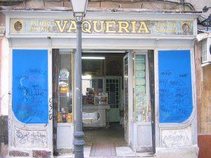 Local de la Vaquería antes de su reconstrucción.