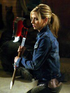Buffy es una cazadora que rompe los estereotipos de chica indefensa