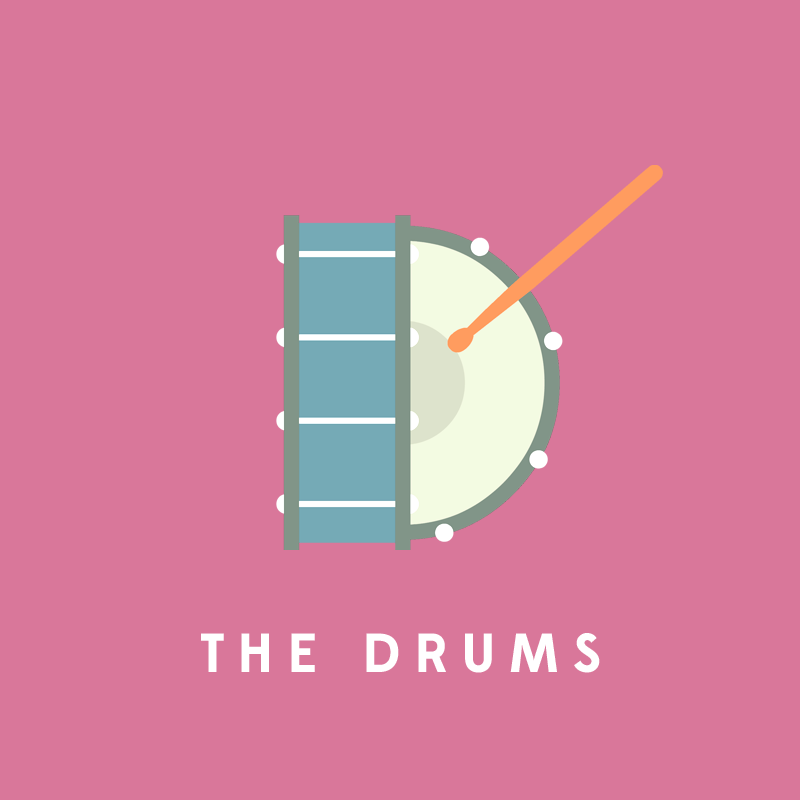 D, de The Drums.