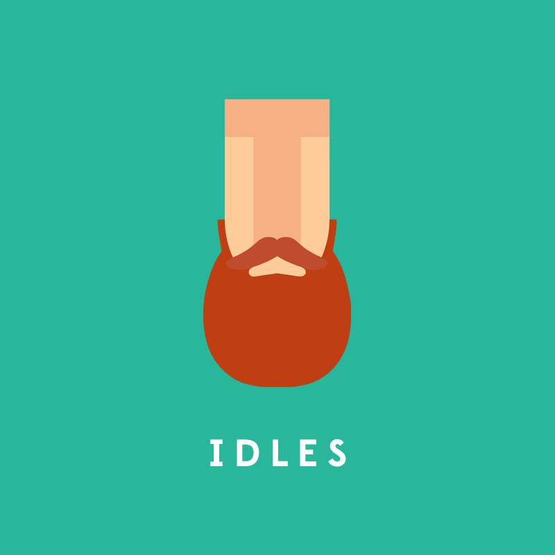 I, de Idles.