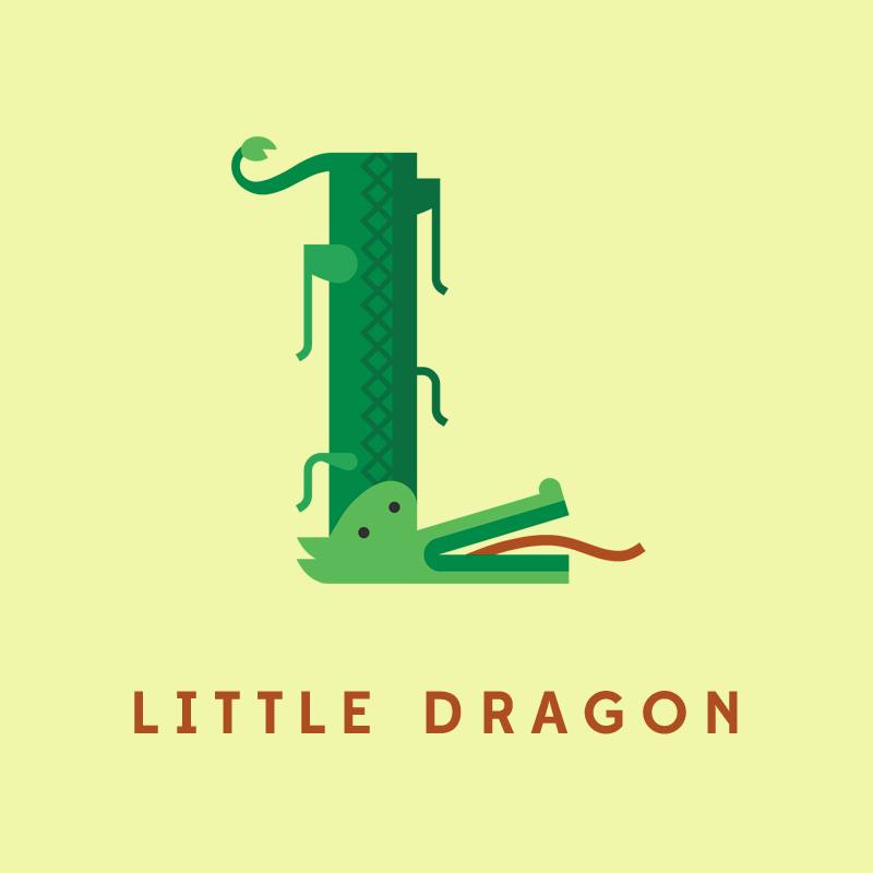 L, de Little Dragon.