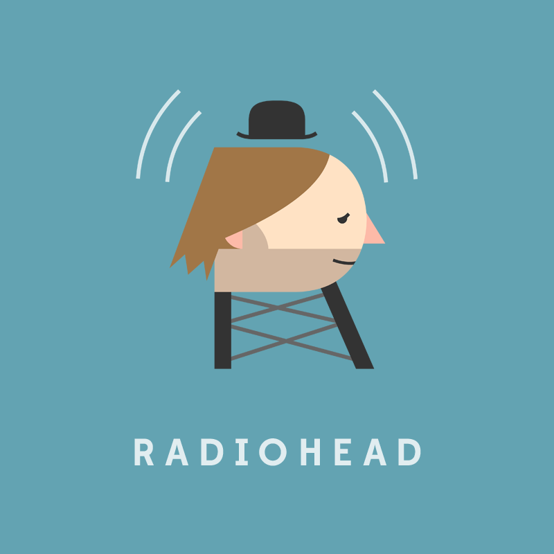 R, de Radiohead.