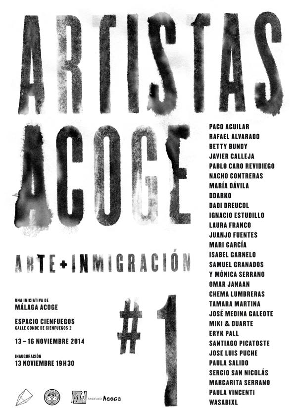 cartel-artistas-acoge-malaga