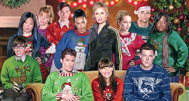 Felicitación navideña de 'Glee' 2010.