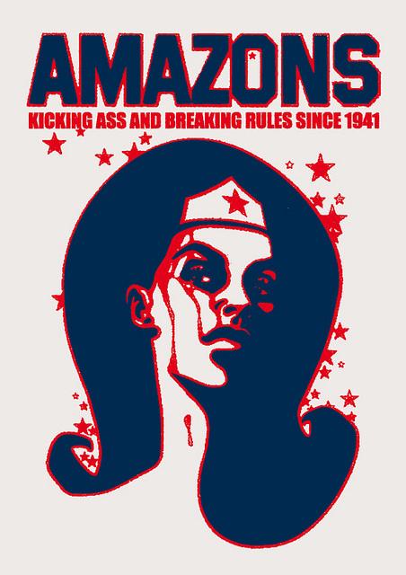Homenaje feministas. Christopher Dombres.