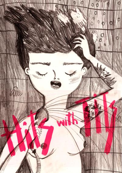 Ilustración de Coco Escribano para Hits With Tits