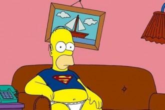 Homer Simpson, en su sofá.