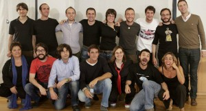 Parte del equipo de The Big Van Theory