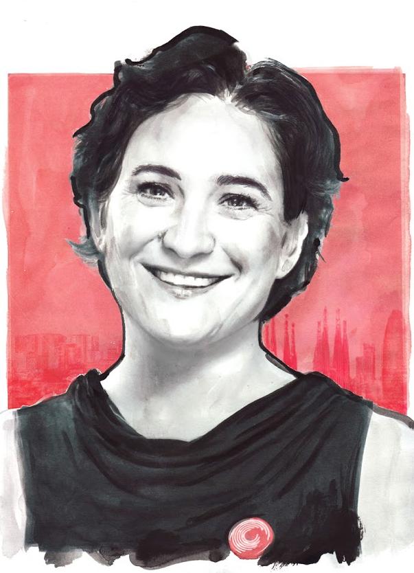 Ada Colau, por Berto Martínez.