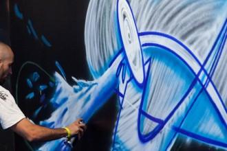 Grafiti en Mulafest.