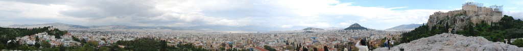 Vista general de la ciudad de Atenas