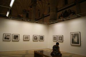 La exposición de Muller se puede visitar en la Lonja de Zaragoza