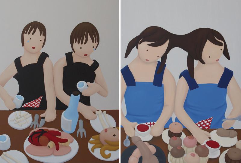 twin-gallery-rosalia-banet-el-banquete-hambriento-art-marbella-nokton-magazine