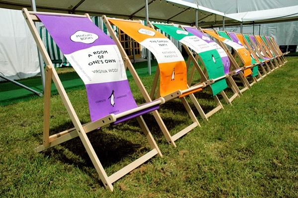 Sillas en el Hay Festival de Segovia