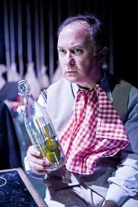 Luis Bermejo interpreta a Amaro, un payaso Augusto que siempre ha soñado con ser domador