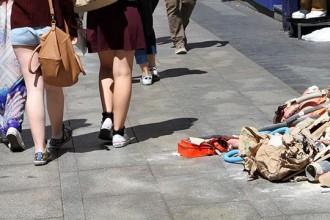 Foto de la acción de 'Fashion Victims'.