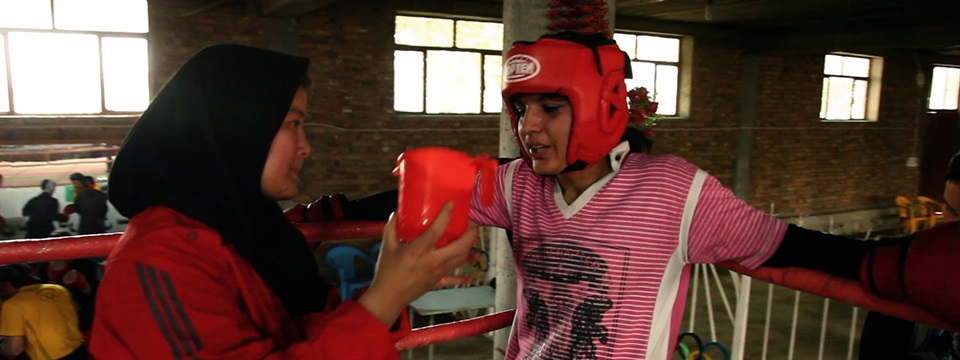 Fotograma de 'Boxing for freedom'.