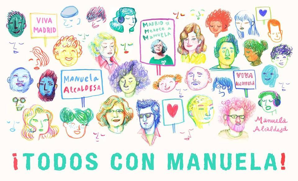 Madrid con Manuela