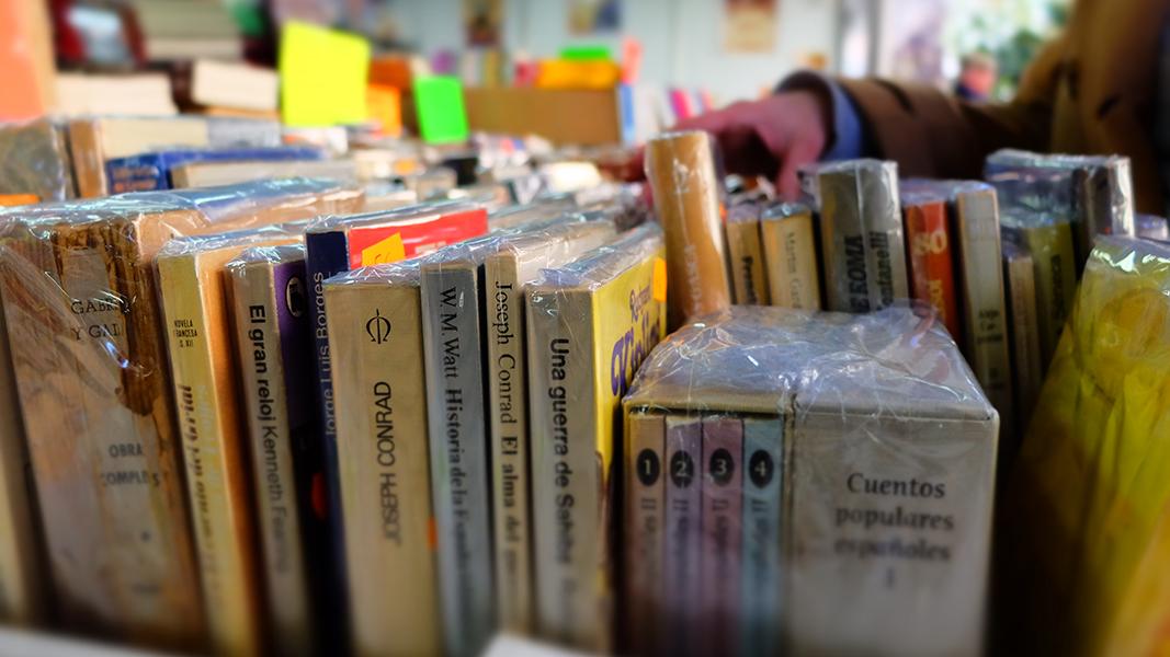 Feria del Libro Antiguo de Badajoz.