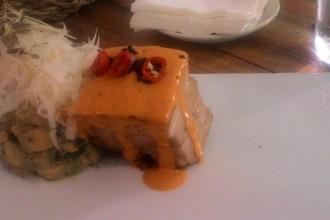 Ropavieja de carne en Gofio by Cicero Canary.