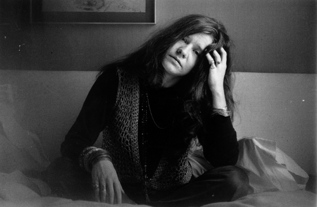 5th April 1969: Rock singer Janis Joplin (1943 - 1970).
