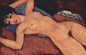 Nu Couché, Modigliani