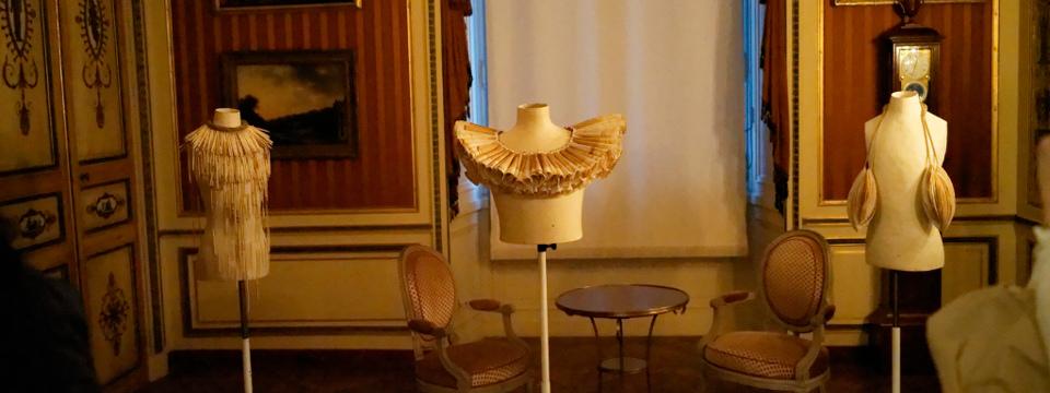 Sala del Museo de las Artes Decorativas de París.