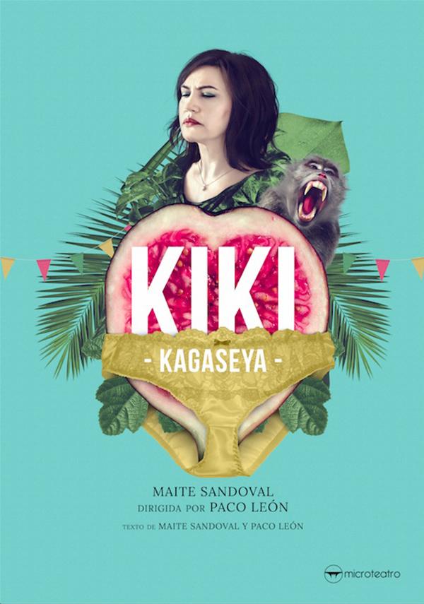 Cartel de 'Kiki Kagaseya'.