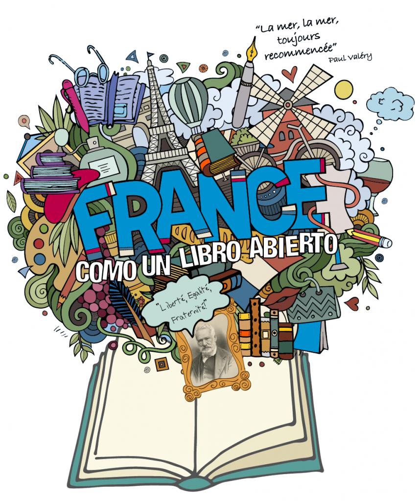 Logo Feria - como un libro abierto