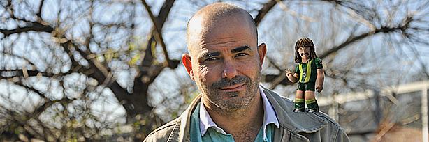 El escritor Eduardo Sacheri.
