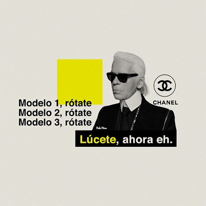 Karl Lagerfeld feat. Daddy Yankee.