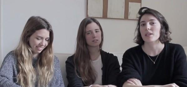 Tres de las directoras de 'Las amigas de Ágata'.