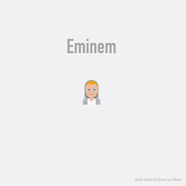 Emoji de Eminem.